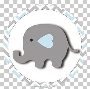 Baby Shower Elephant Hathi Jr. Yellow Convite PNG