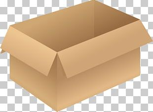 Cardboard Box Paper Packaging And Labeling PNG