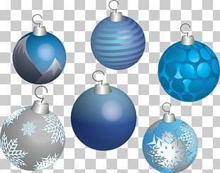 Christmas Ornament Blue Christmas Decoration Christmas Card PNG