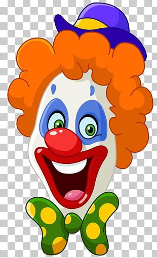 Clown Face PNG