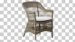 Garden Furniture Chair Rattan PNG