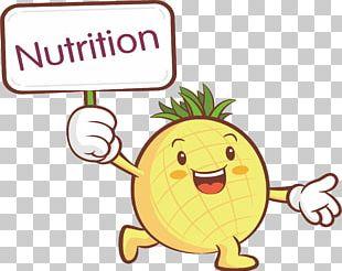 Fruit Cartoon Illustration PNG