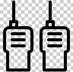 Walkie-talkie Computer Icons Mobile Phones Radio PNG