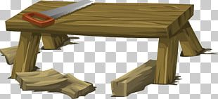 Table Wood Workbench Desk PNG