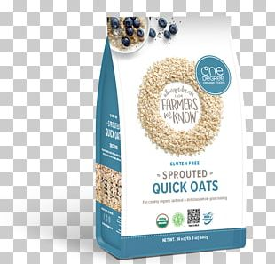 Breakfast Cereal Organic Food Nutrient Steel-cut Oats Sprouting PNG