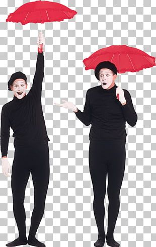 Clown Mime Artist Circus PNG