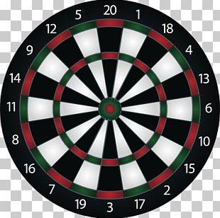 Darts Bullseye Game Set PNG