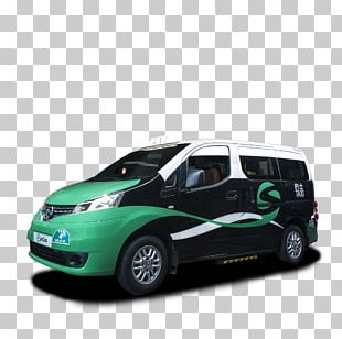 Compact Van Compact Car Minivan PNG