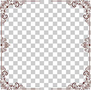 Decorative Patterns Border PNG