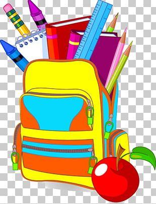 Student School Bag PNG