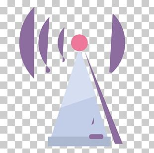 Telecommunications Tower Radio Graphic Design PNG