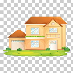 Cartoon House Illustration PNG