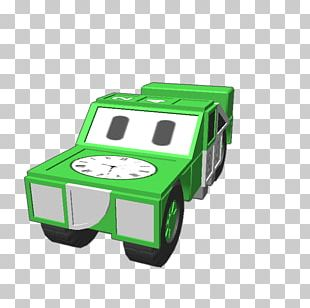 Motor Vehicle Green PNG