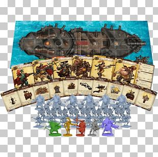Board Game CMON Rum & Bones: Second Tide CMON Limited PNG