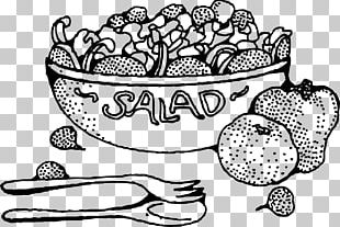 Coloring Book Salad Vegetarian Cuisine Vegetable Fruit PNG