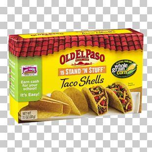 Taco Vegetarian Cuisine Old El Paso Convenience Food PNG