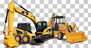 Caterpillar Inc. Earthworks Architectural Engineering Heavy Machinery Backhoe Loader PNG