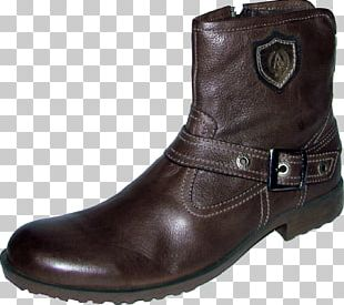 Motorcycle Boot Cowboy Boot Leather Shoe PNG