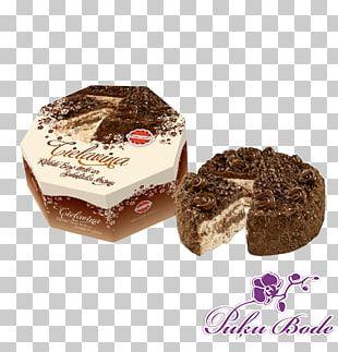 Chocolate Brownie Torte Frozen Dessert PNG
