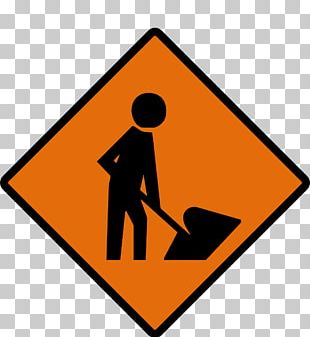 Roadworks Traffic Sign Architectural Engineering Construction Site Safety PNG