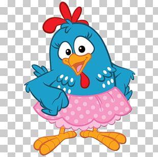 Rooster Chicken Galinha Pintadinha Skirt Pink PNG
