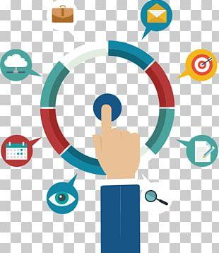 Customer-relationship Management Social Media Marketing Business Digital Marketing PNG