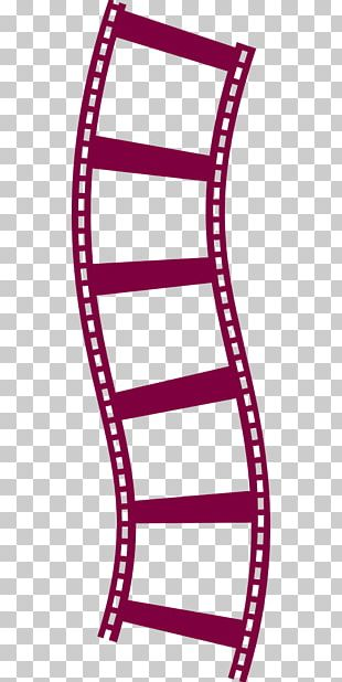 Filmstrip Reel Movie Projector PNG