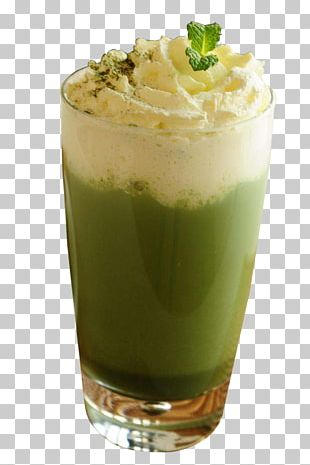 Green Tea Matcha Juice Milkshake PNG