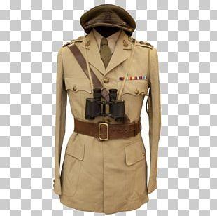 Khaki Military Uniform Europe PNG