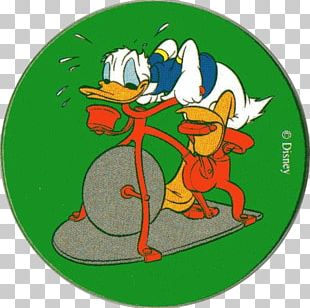 Donald Duck Exercise Bikes Fitness Centre PNG