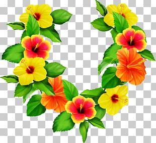 Flower Wreath Leaf PNG