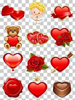 Valentine's Day Paper PNG