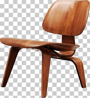 Eames Lounge Chair Wood Furniture PNG