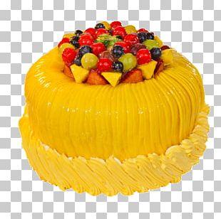 Fruitcake Torte Mango Pudding Cream PNG