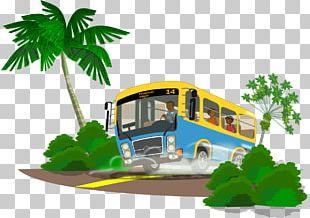 School Bus Travel PNG