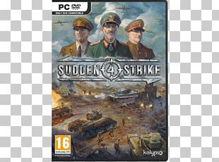 Sudden Strike 4 PlayStation 4 Video Game Real-time Strategy PC Game PNG
