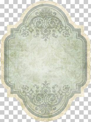 Label Vintage Paper PNG