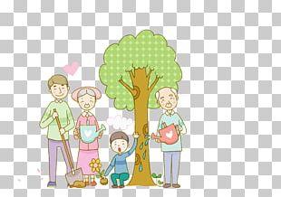 South Korea Qingming Cartoon Illustration PNG