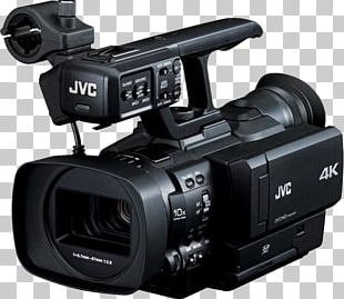 JVC GY-HMQ10 Compact 4K Camcorder With AVCHD Ex-Demo 32537 Video Cameras JVC GY-HM200 Professional Video Camera PNG