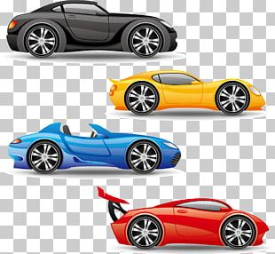 Sports Car Truck PNG