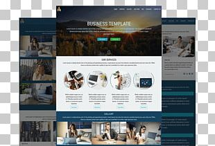 Web Template System Responsive Web Design Display Advertising Digital Marketing PNG