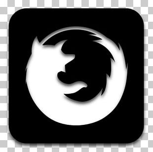 Firefox Computer Icons Black And White PNG