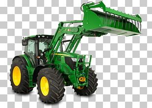 John Deere Tractor Heavy Machinery Loader Agricultural Machinery PNG