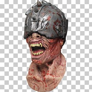 Latex Mask Halloween Costume The Haunted Mask PNG