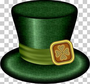Saint Patrick's Day Holiday Leprechaun Collage PNG