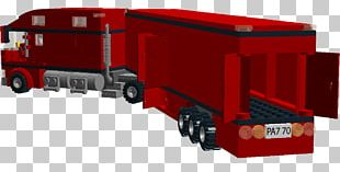 Semi-trailer Truck Car Toy Lego City PNG