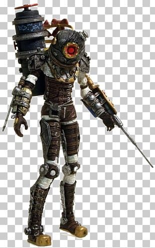 BioShock 2 BioShock Infinite Big Daddy Action Figure PNG