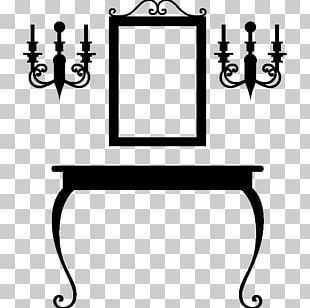 Table Wall Decal Furniture Ornament PNG