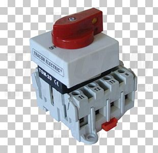 Electronic Component Disconnector Electrical Switches Electric Power Distribution Modular Design PNG