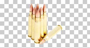Full Metal Jacket Bullet Ammunition .308 Winchester Projectile PNG